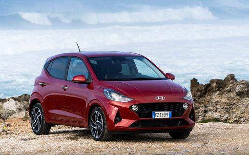 Voiko malliston edullisin olla hyvä? Ensikoeajossa kokoaan ja hintaansa suurempi Hyundai i10
