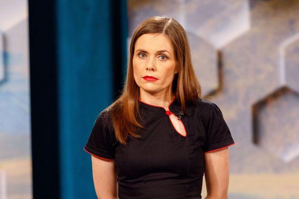 Islannin pääministeri Katrín Jakobsdóttir.