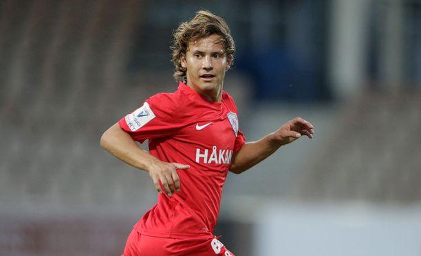 Sebastian Mannström siirtyi Interistä Stuttgarter Kickersiin.
