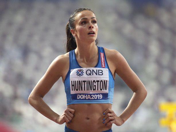 Maria Huntington edusti Suomea viime syksynä Dohan MM-kisoissa.