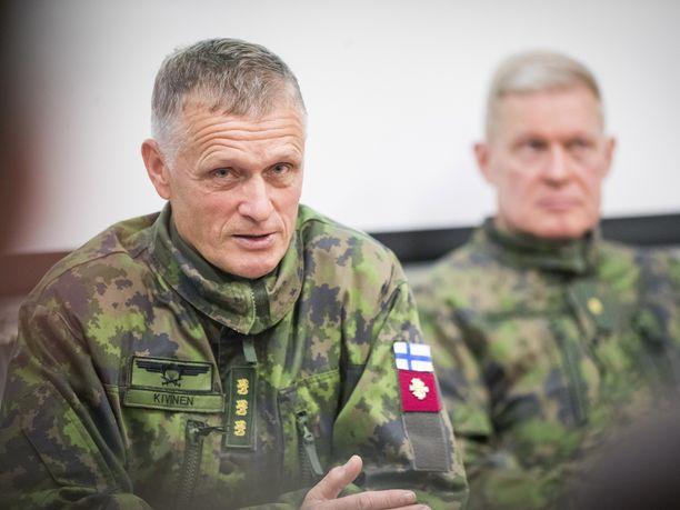 Kenraaliluutnantti Timo Kivinen.
