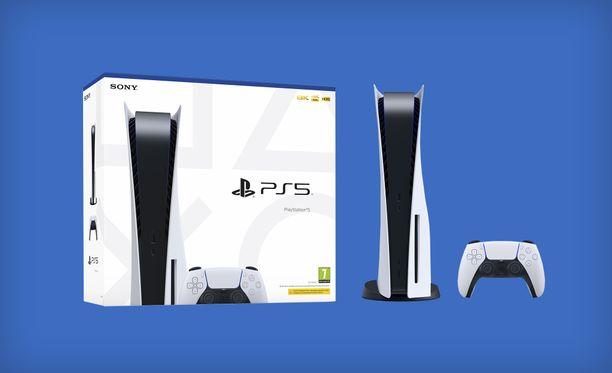 Playstation 5 saapuu kauppoihin marraskuussa.