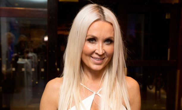 Susanna Penttilän, 43, kroppa on huippukunnossa.