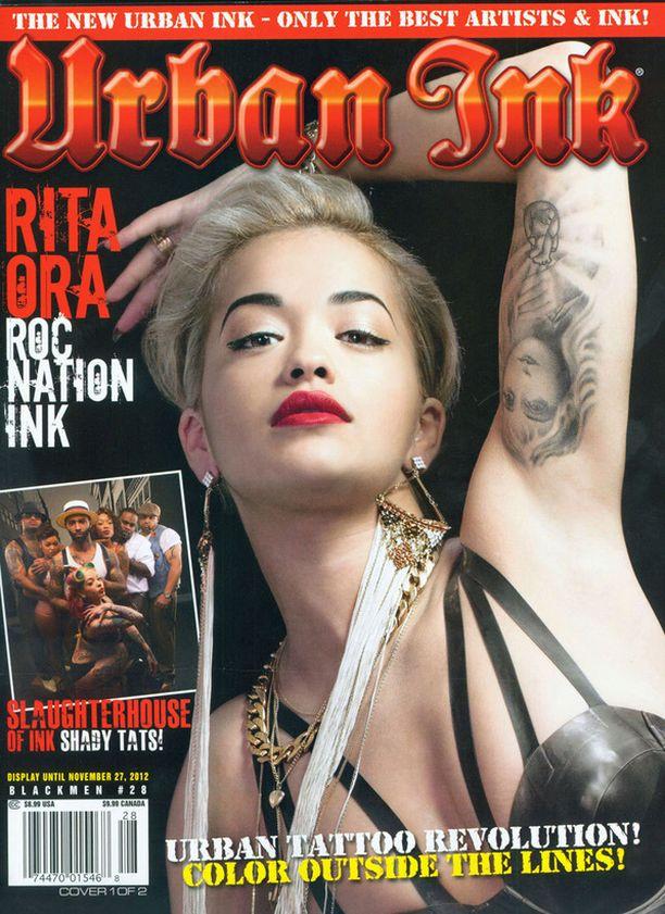 Rita Oran hauiksessa on Afroditen kuva.