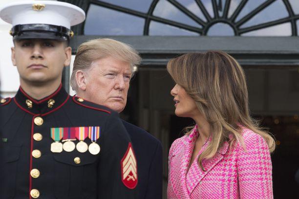 Trumpit ovat olleet naimisissa vuodesta 2005.