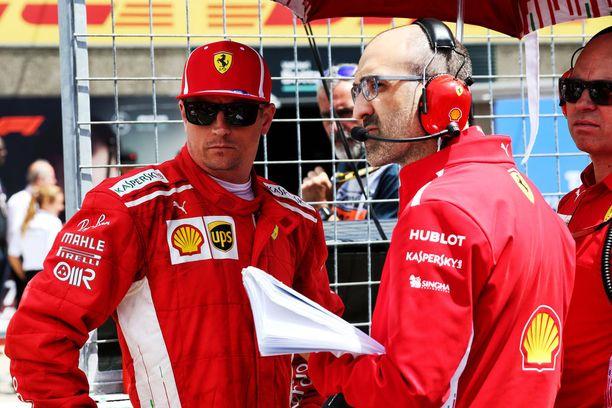 Kimi Räikkösen sijoitukset kahdesta edellisestä Ranskan GP:stä ovat ykkönen ja kakkonen.