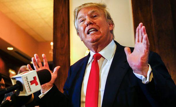 Donald Trump haluaa Yhdysvaltojen presidentiksi.