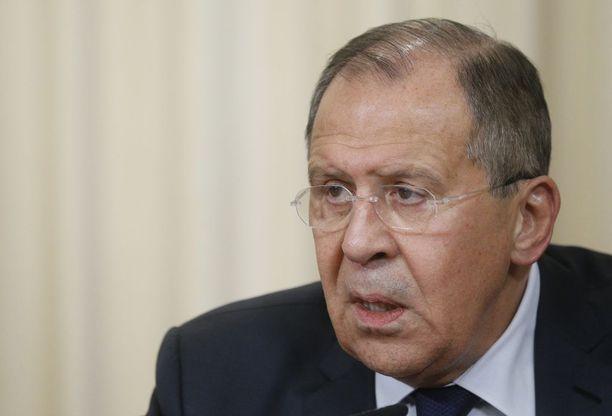 Sergei Lavrov myönsi, että Venäjällä on osaa Ukrainan kriisissä.