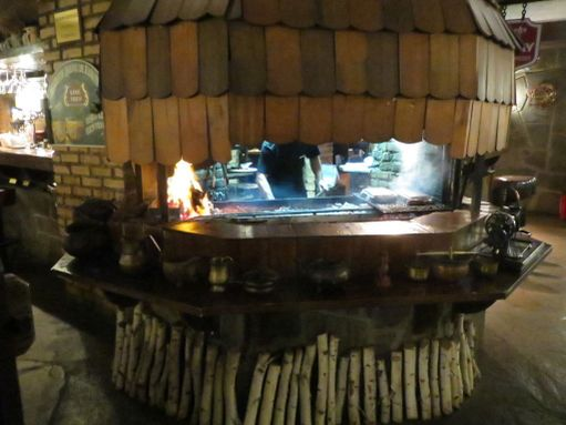 Puugrilli Line Brew -ravintolassa.