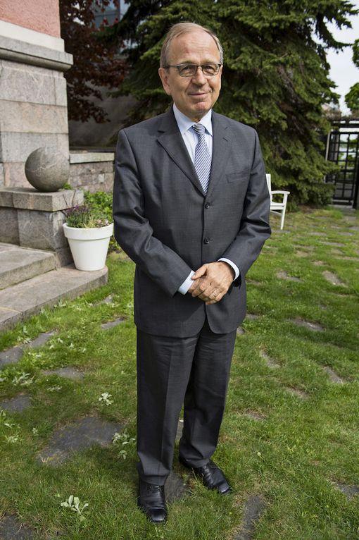 Suomen Pankin pääjohtaja Erkki Liikanen