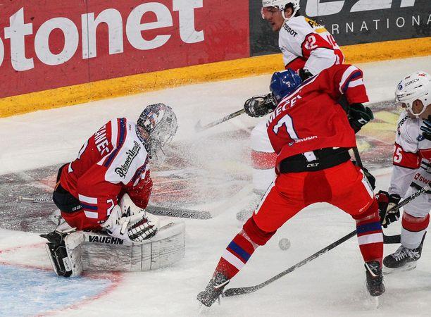 David Nemecek edusti Tshekkiä toissavuoden Karjala-turnauksessa.