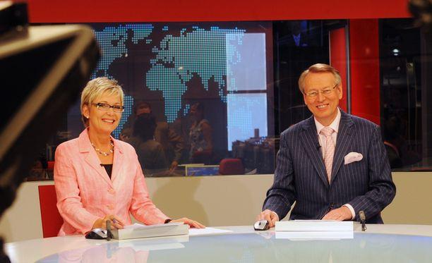 Pirjo Nuotio ja Urpo Martikainen vuonna 2010.