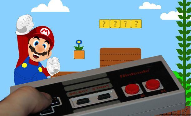 Hiljattain myydyssä Super Mario -pelissä oli hintalappukin kiinni.
