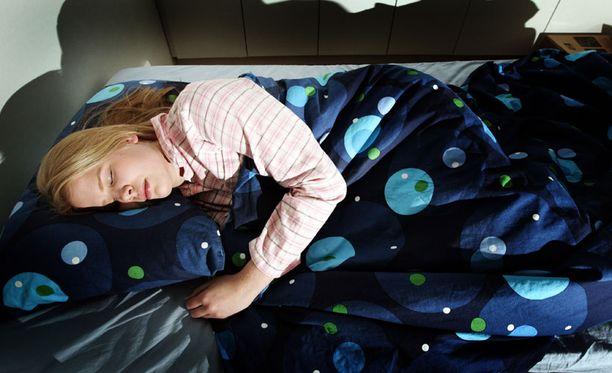 Ruoan laatu vaikuttaa unen laatuun.