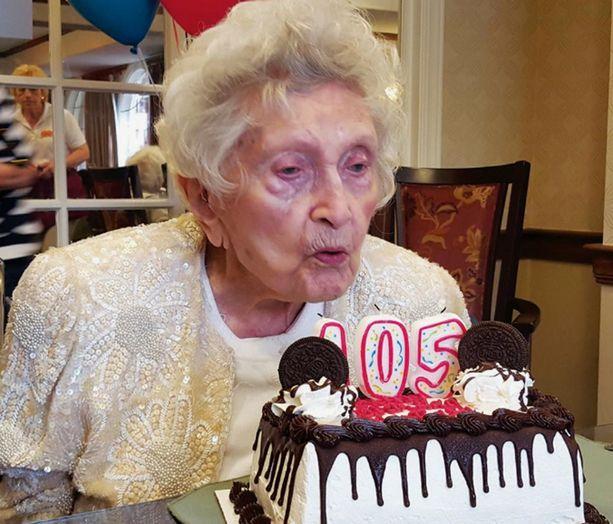 Marta Brondo juhli 105-vuotispäiviään 5. maaliskuuta.