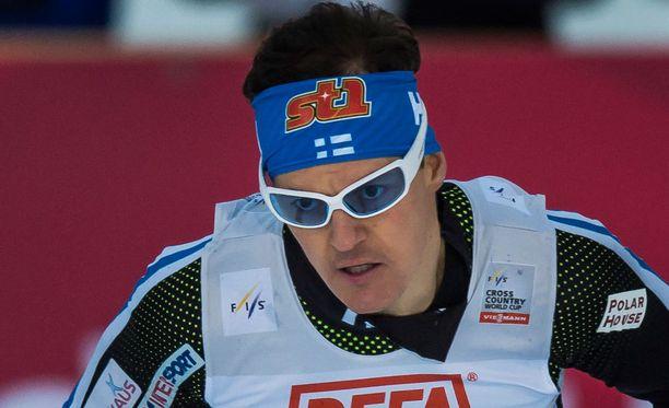Sami Jauhojärvi on ylikunnossa.