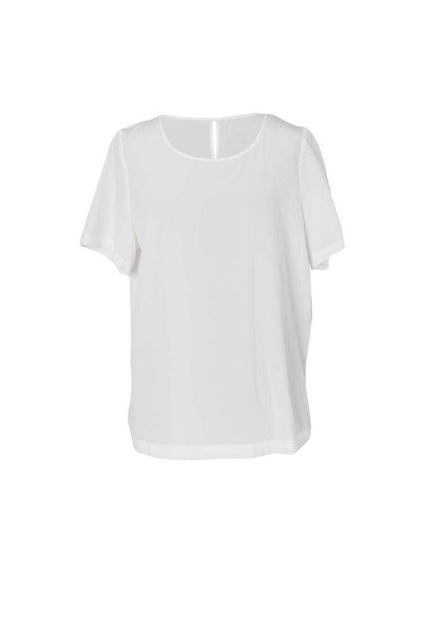 Kotimaisen R-Collectionin t-paita onkin silkkiä, 85 e