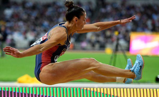 Ivana Spanovicin numerolappu ei ollut kunnolla kiinni. Se saattoi maksaa naiselle MM-mitalin.