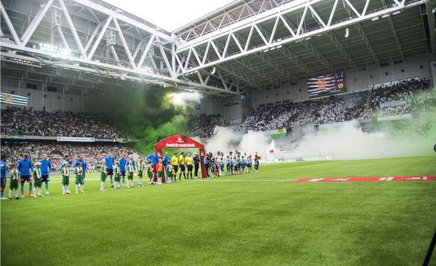 Sunnuntaina pelattu Tukholman derby päättyi Hammarbyn voittoon.
