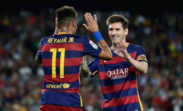 Lionel Messin ja Neymarin tähdittämä FC Barcelona on Katalonian ylpeys.