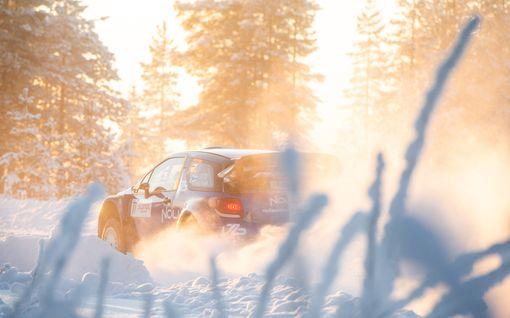 Valtteri Bottas nousi Tunturirallissa kuudenneksi – kilpailun huipennus edessä