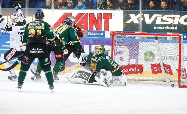 Ilves joutui katselemaan Mikko Rantasen voittomaalia jatkoajalla.