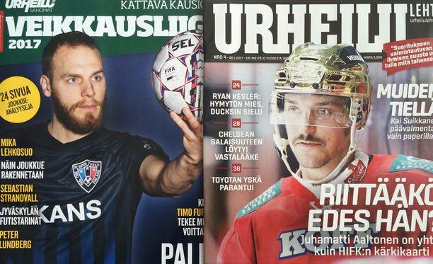 Urheilusanomat ja Urheilulehti yhdistyvät.