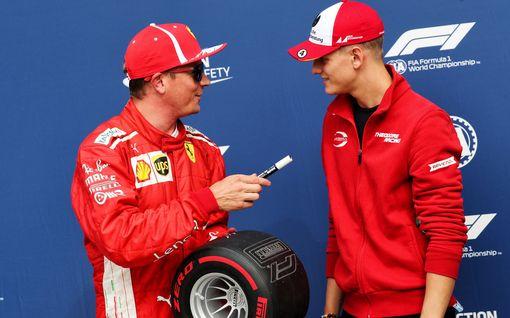 F1-sisäpiiriläinen: Mick Schumacherin unelma on lähellä - Kimi Räikkösen päätöksellä ratkaiseva vaikutus