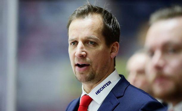 Antti Törmänen ei jaellut kiitoksia tappion jälkeen.