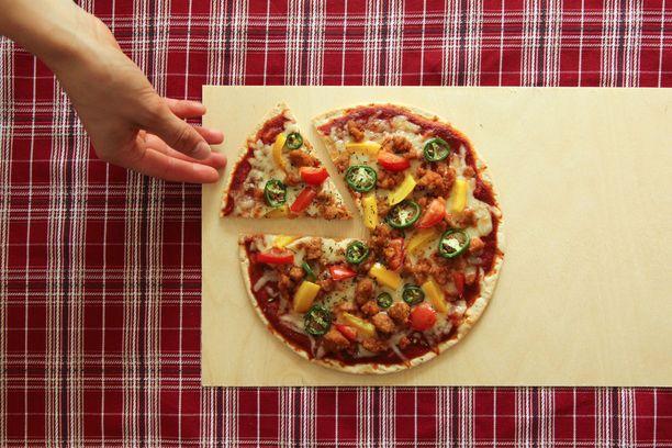 Särvintä voi käyttää pizzantäytteenä.