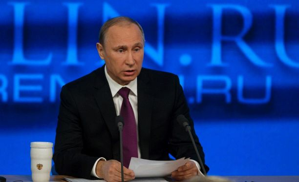 Venäjän presidentti Vladimir Putin pitää tänään monituntisen yksinpuhelunsa kello 12.