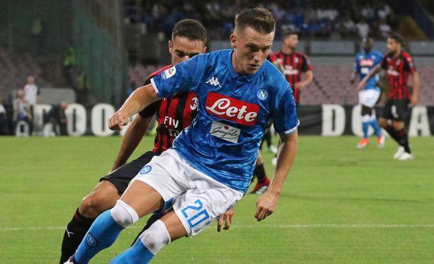 Piotr Zielinski teki kaksi maalia AC Milanin verkkoon.