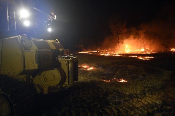 Paloista vain viisi prosenttia on hallinnassa.