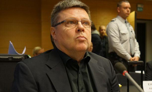 Huumepoliisin entinen päällikkö Jari Aarnio.