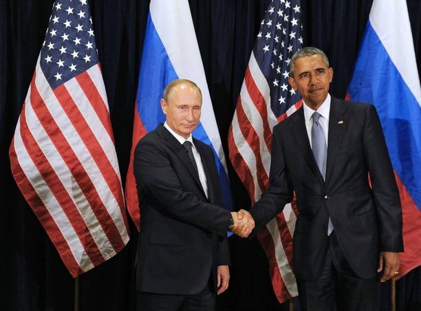 Venäjän presidentti Vladimir Putin on keskustellut tänään keskiviikkona Barack Obaman kanssa. Kuvituskuva.