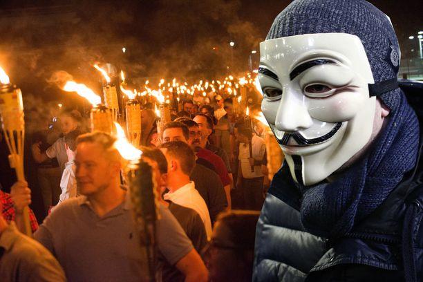Anonymous-ryhmä tiedotti hakkeroineensa ja ajaneensa alas lukuisia nettisivuja, joilla on tekemistä uusnatsien ja Ku Klux Klan -ryhmittymän kanssa. Kuvituskuva.