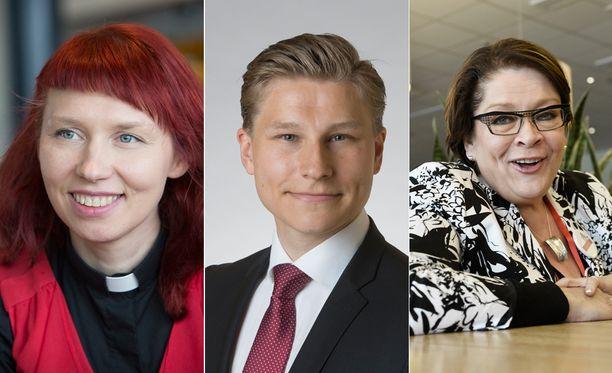 Marjaana Toiviainen, Antti Häkkänen ja Ann Selin ovat Sensuroimattoman Päivärinnan ensimmäisen jakson vieraat.