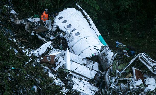 LaMia Airlinesin lento 2933 syöksyi marraskuussa 2016 maahan Kolumbiassa, Medellinin kaupungin lähistöllä.