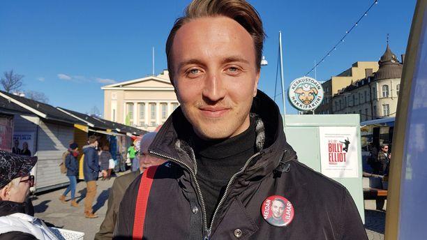 Ilmari Nurminen on edustanut ainoana alle 30-vuotiaana poliitikkona eduskunnassa päättyneellä vaalikaudella.