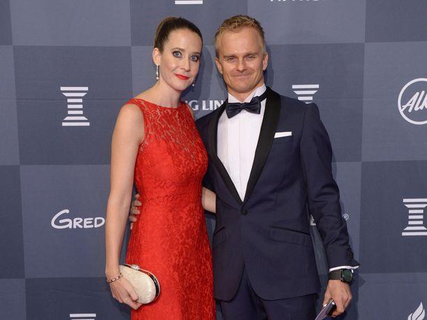 Heikki Kovalainen ja Catherine Hyde vierailevat säännölisesti Suomessa. Muutto Abu Dhabista tapahtuu ennemmin tai myöhemmin.