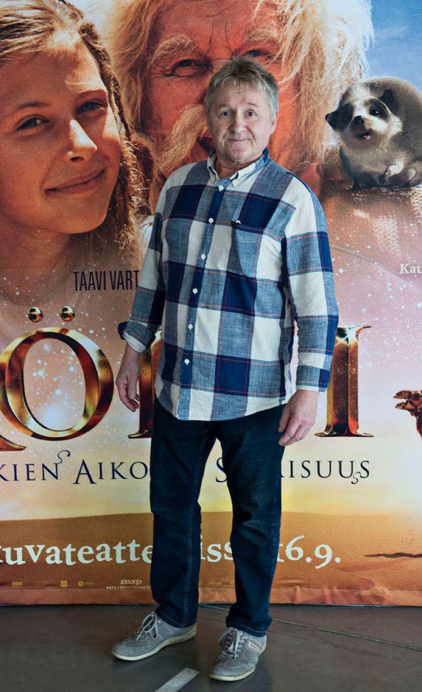 Allu Tuppurainen on suurimmalle osalle tuttu Röllinä, vaikka näyttelijällä on takanaan pitkä ura teatterissa.
