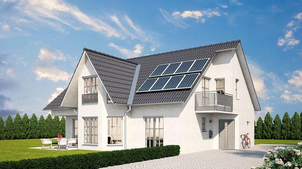 Aurinkoenergia on kiinnostava tulevaisuuden kannalta. Aurinkokennot voisivat sulautua rakennuksiin erilaisin tavoin.