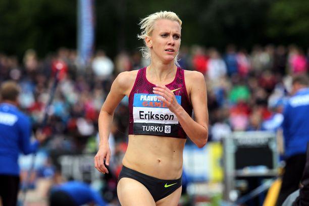 Sandra Eriksson ei kilpaile tällä kaudella.