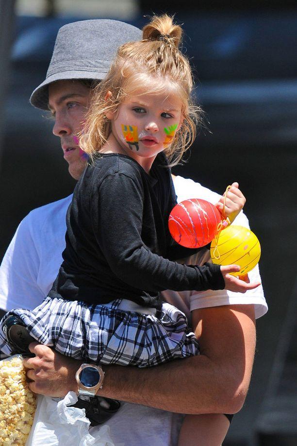 Dannielynn kuvattu vuonna 2010 Farmer's Market -tapahtumassa. Tuolloin tyttö oli neljävuotias.
