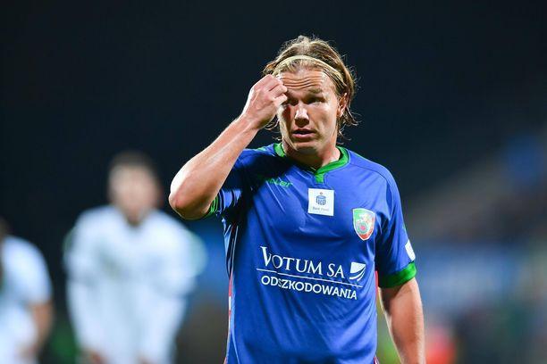 Petteri Forsell pelaa Puolassa.