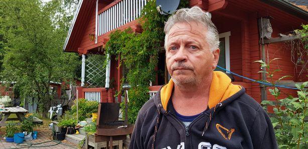 Pyhärantalainen Jukka Aalto osasi aavistaa paloalueen koon ja suunnan, eikä hän ollut liian huolissaan.
