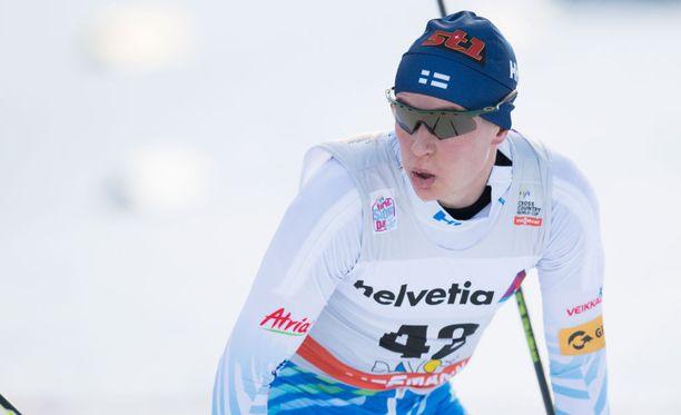 Matti Heikkinen oli yhdistelmäkisan toiseksi paras suomalainen.