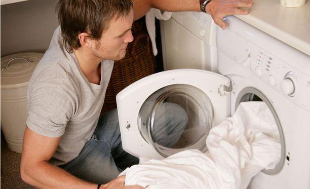 Pyykinpesukone laulaa monissa kodeissa päivittäin.