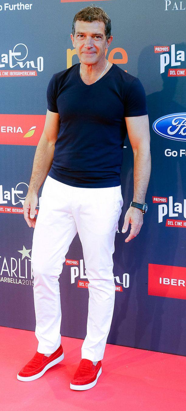Näyttelijä Antonio Banderas esittää pääosaaa The 33 -elokuvassa.