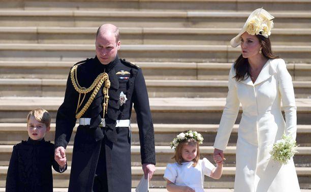 Prinssi Williamin lapset ovat innostuneet tanssimisesta.